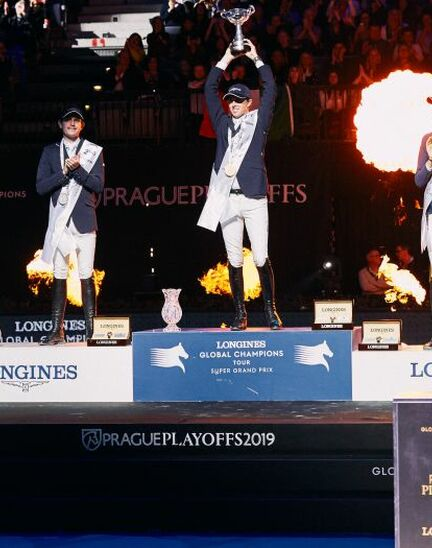 Mind-blowing victory of Ben Maher who becomes the champion of the Longines Global Champions Tour Super Grand Prix