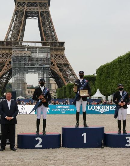 Longines Paris Eiffel Jumping:  Back at the foot of the Iron Lady