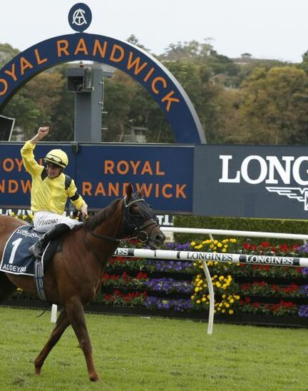 Longines timed the victory of Addeybb in the Longines Queen Elizabeth Stakes