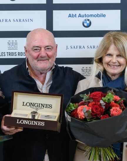 Luigi Baleri is the 2019 Longines Owner of the Year
