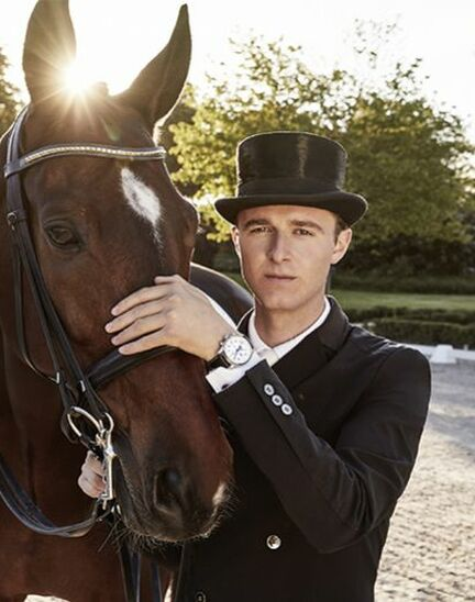 Dressage's rising star Sönke Rothenberger has become a Longines Ambassador of Elegance