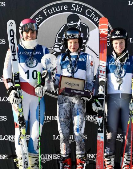 LONGINES FUTURE SKI CHAMPIONS - THE BEST YOUNG FEMALE SKIERS