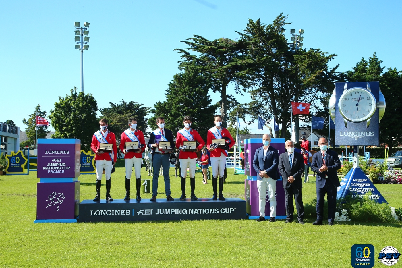 Longines Show Jumping Event: Team Switzerland claims victory to mark the 60th anniversary of the Longines Jumping International of La Baule 2