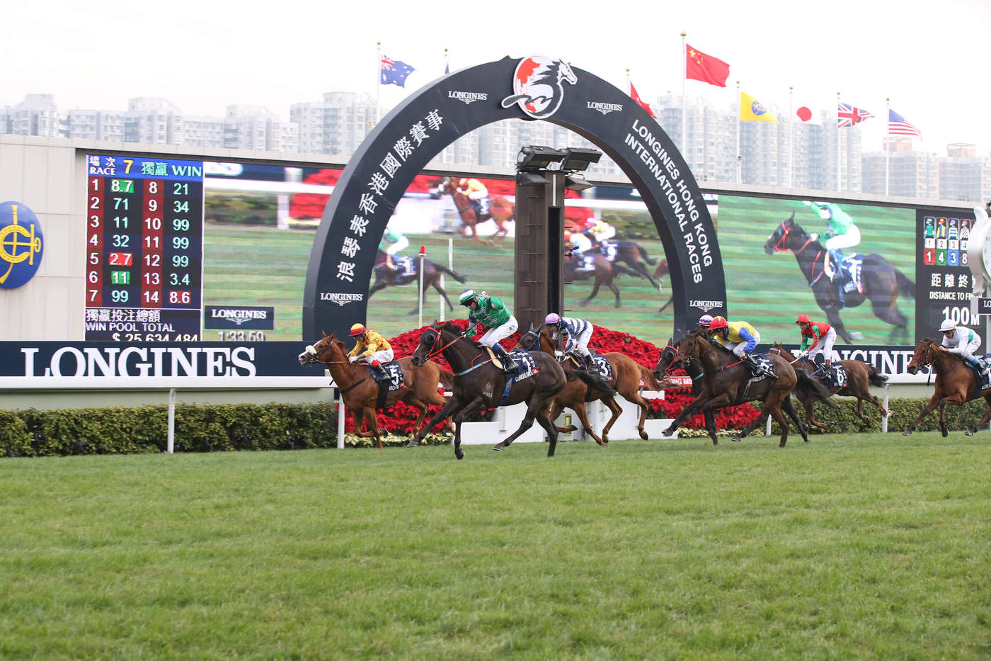 Longines Flat Racing Event: Longines Hong Kong International Races 12