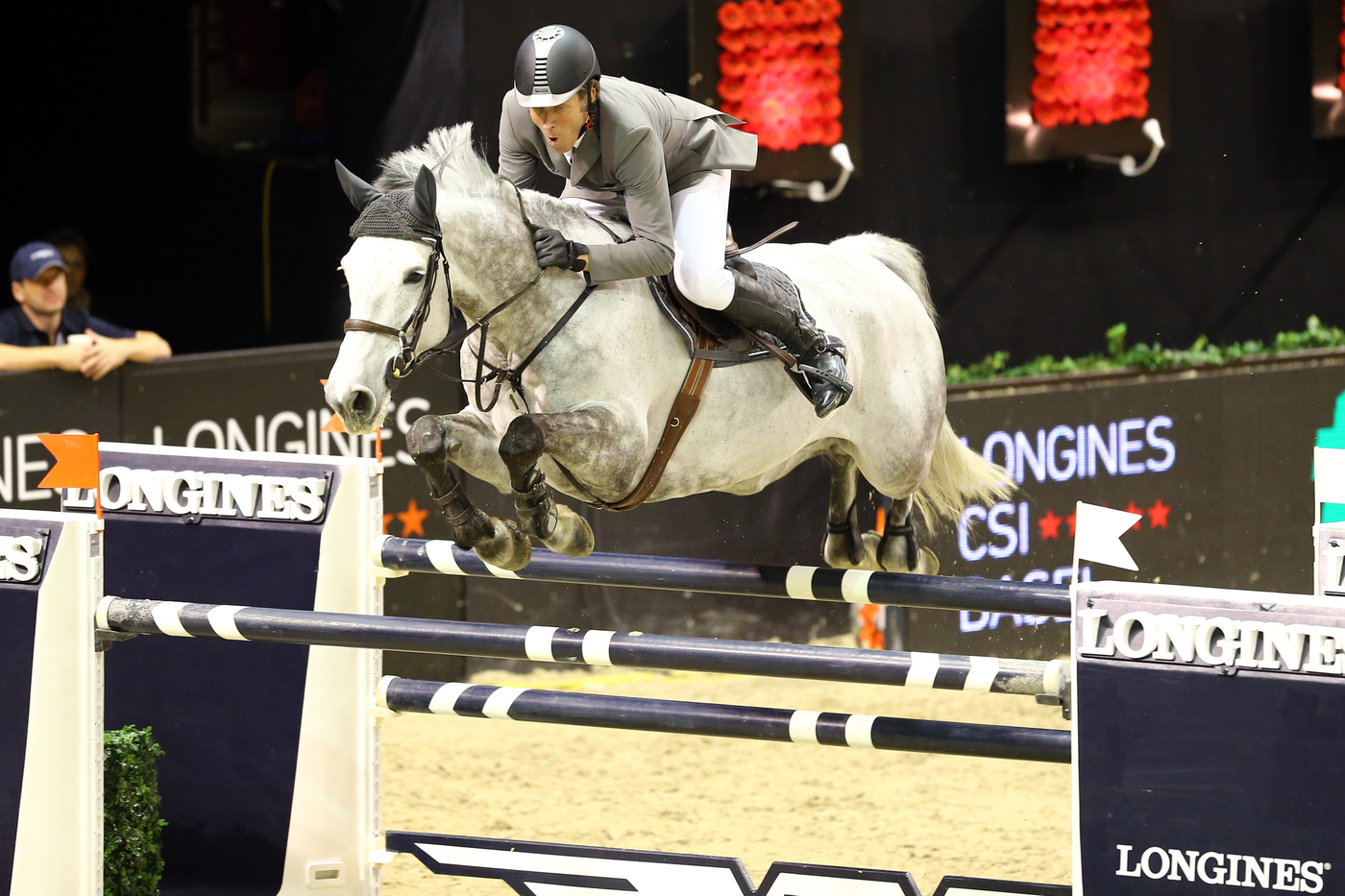 Longines Show Jumping Event: Rolf-Göran Bengtsson on Casall ASK wins the Longines Grand Prix at Longines CSI Basel 2