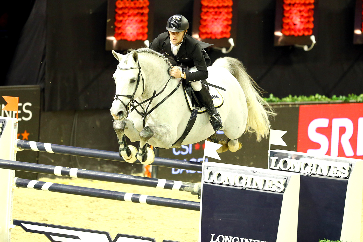 Longines Show Jumping Event: Rolf-Göran Bengtsson on Casall ASK wins the Longines Grand Prix at Longines CSI Basel 3