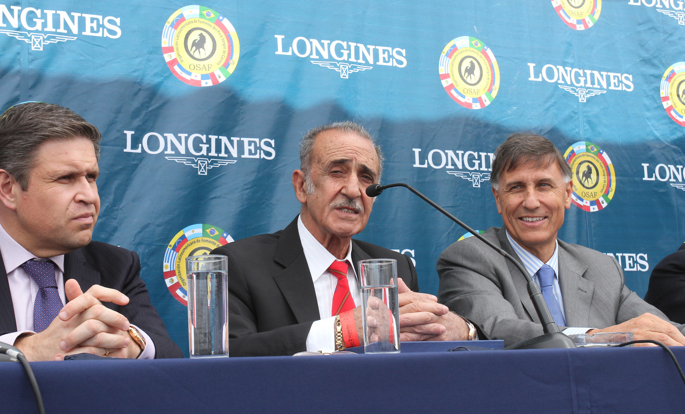 Longines Flat Racing Event: Longines becomes the Official Partner of OSAF and of the Longines Gran Premio Latinoamericano 1