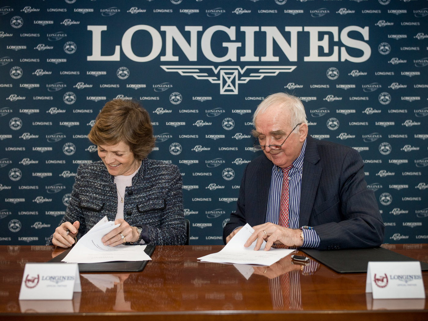 Longines Flat Racing Event: Longines signs a new partnership agreement with the International Federation of Gentlemen and Lady Riders 1