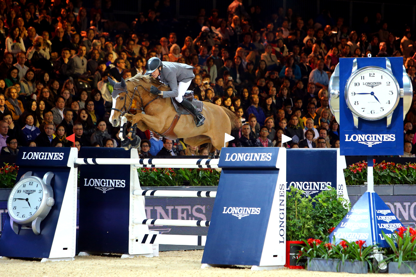 Longines Show Jumping Event: Brilliant moments at the Longines Hong Kong Masters 2014 10