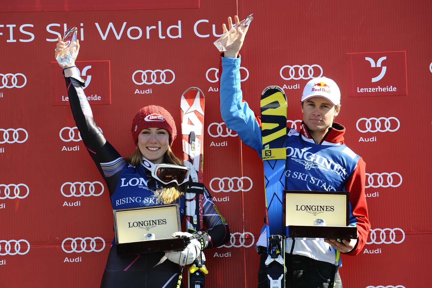 Longines Alpine Skiing Event: Mikaela Shiffrin and Alexis Pinturault are the Longines Rising Ski Stars 2013/2014 3