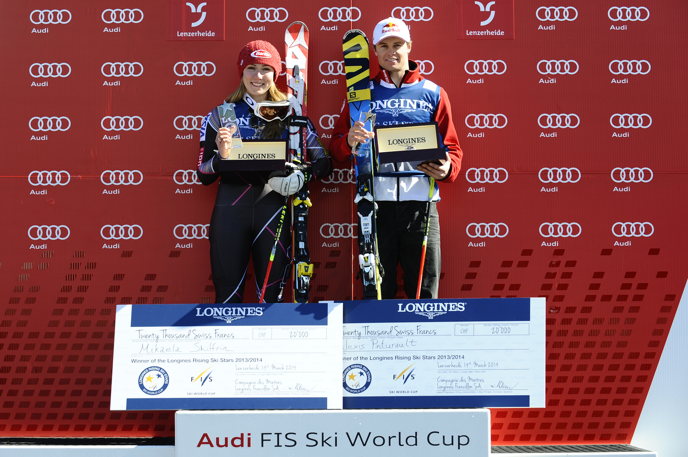 Longines Alpine Skiing Event: Mikaela Shiffrin and Alexis Pinturault are the Longines Rising Ski Stars 2013/2014 4