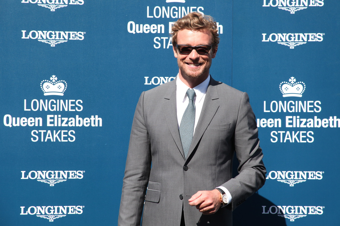 Longines Flat Racing Event: 2014 edition of the Longines Queen Elizabeth Stakes Raceday with the presence of Simon Baker 2