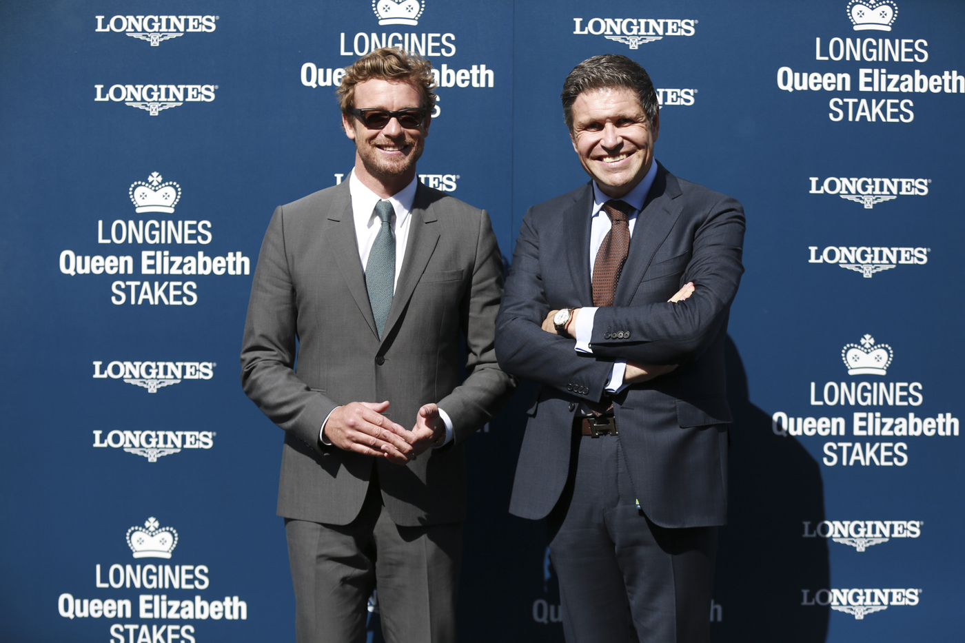 Longines Flat Racing Event: 2014 edition of the Longines Queen Elizabeth Stakes Raceday with the presence of Simon Baker 3