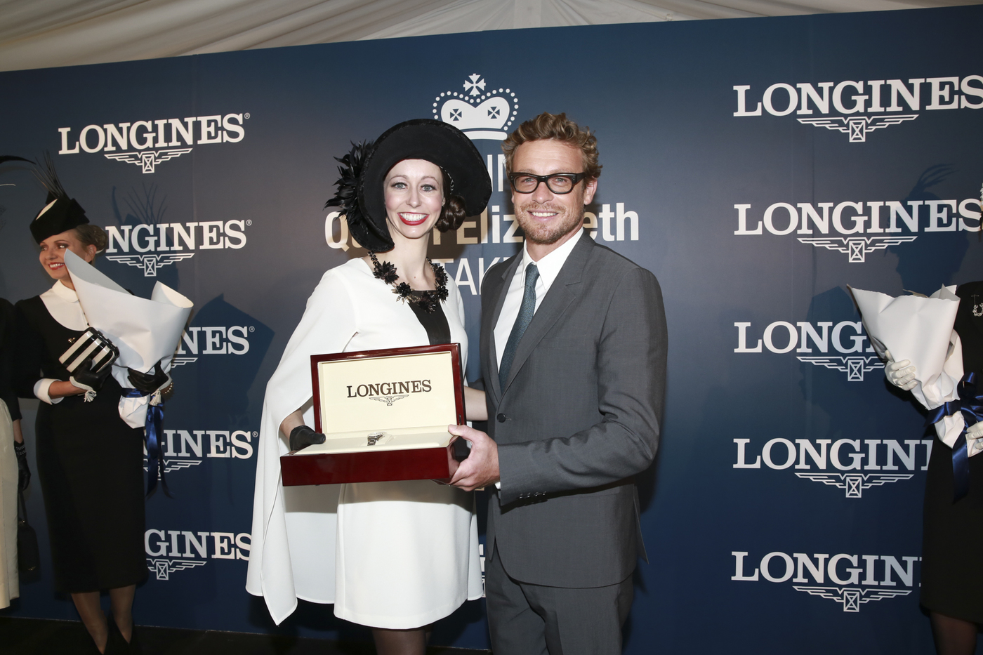Longines Flat Racing Event: 2014 edition of the Longines Queen Elizabeth Stakes Raceday with the presence of Simon Baker 6
