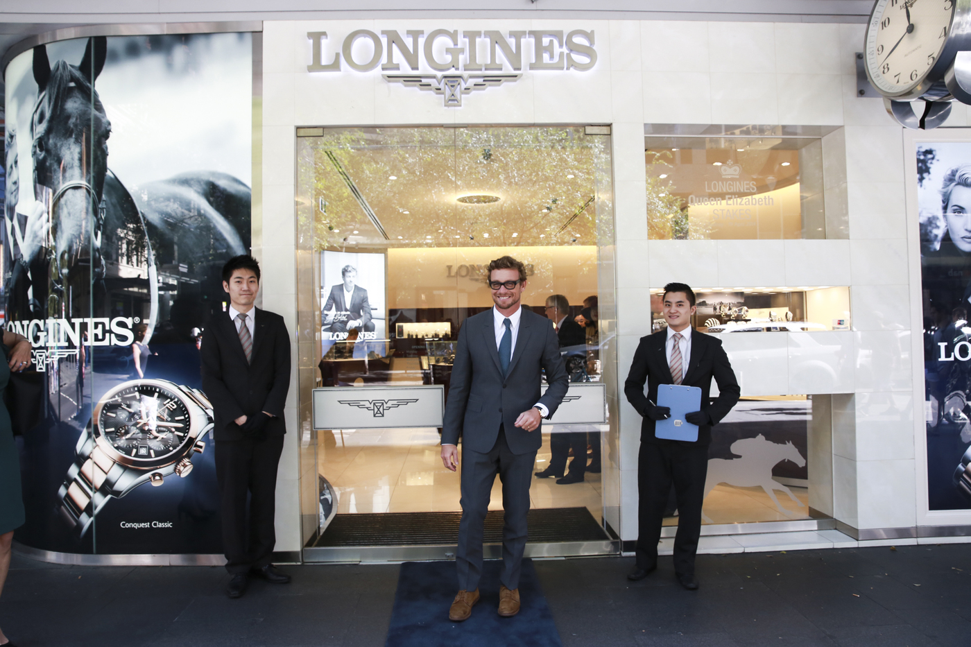 Longines Flat Racing Event: 2014 edition of the Longines Queen Elizabeth Stakes Raceday with the presence of Simon Baker 8