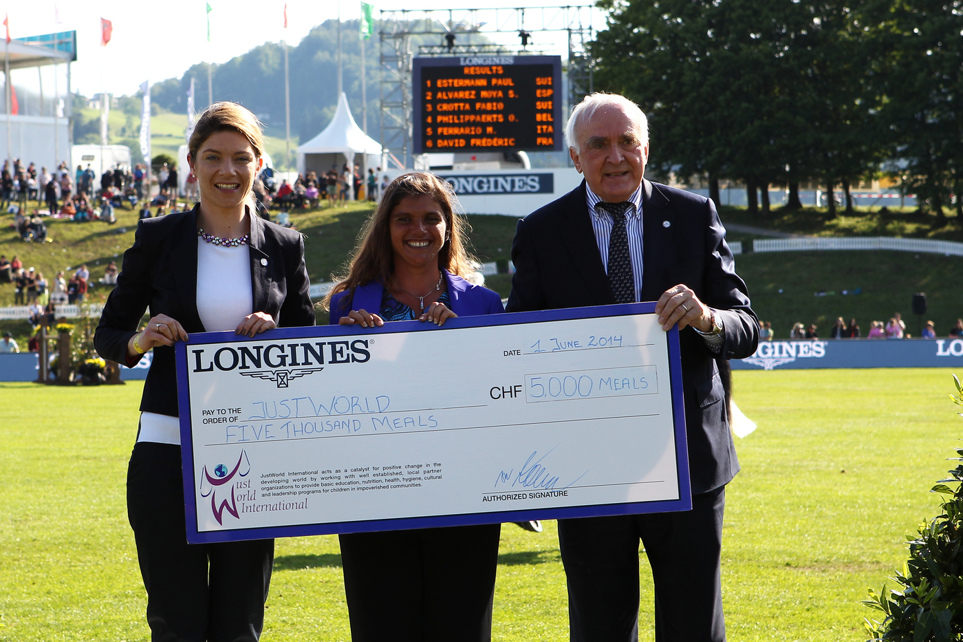 "Longines Show Jumping Event: Excellent results for Switzerland at the ""Longines Grand Prix der Schweiz""  in St. Gallen 5"