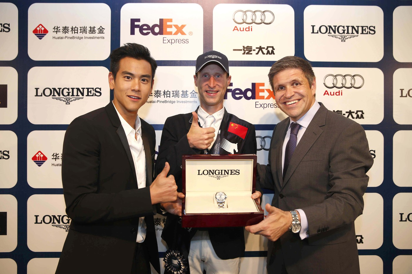 Longines Show Jumping Event: Longines Ambassador of Elegance Eddie Peng at the Longines Global Champions Tour of Shanghai 10
