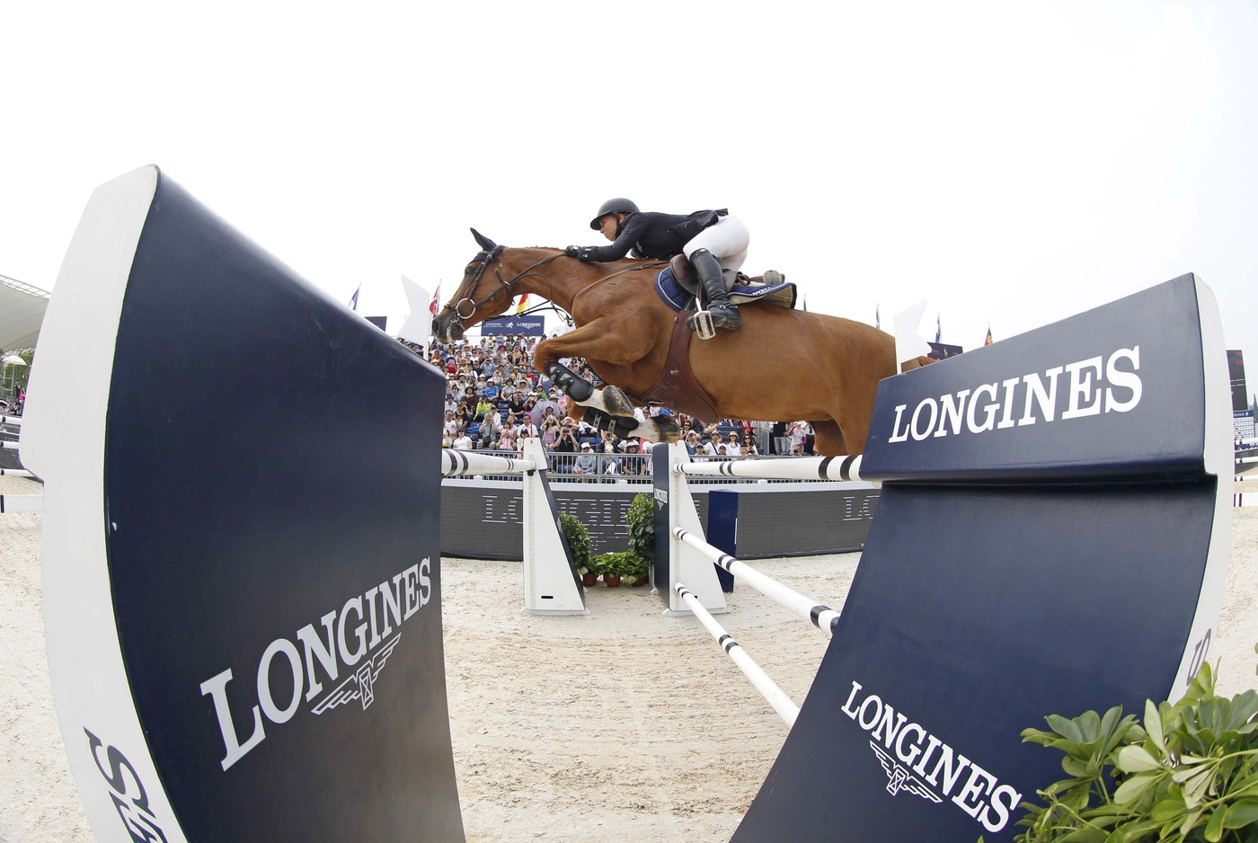 Longines Show Jumping Event: Longines Ambassador of Elegance Eddie Peng at the Longines Global Champions Tour of Shanghai 11