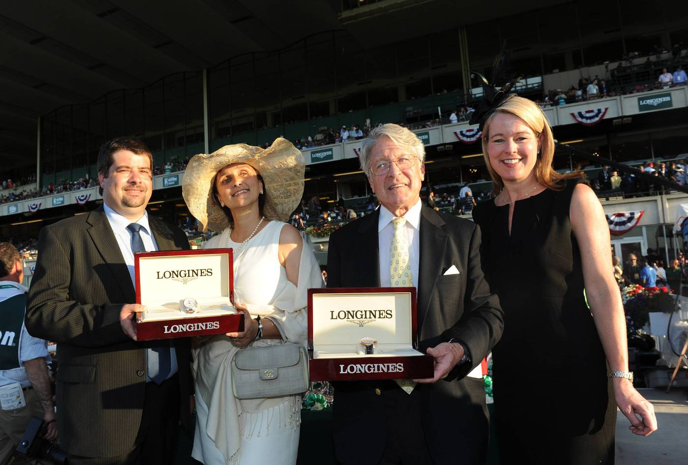 Longines Flat Racing Event: Longines Times Tonalist's surprising Victory at Belmont Stakes 2