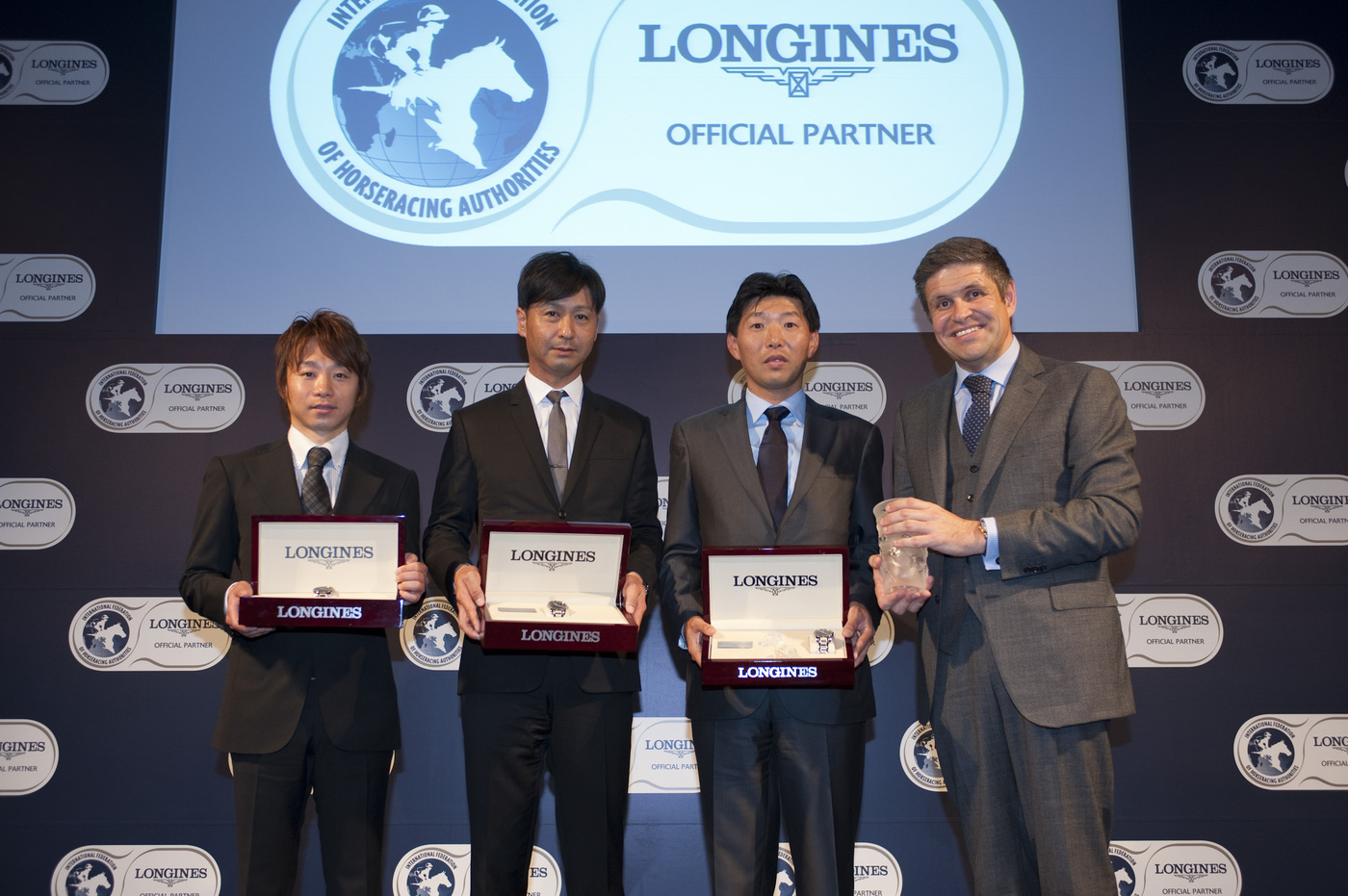 Longines Flat Racing Event: Longines and the International Federation of Horseracing Authorities (IFHA) honoured ORFEVRE as the co-third highest-rated horse in the world for 2013 3