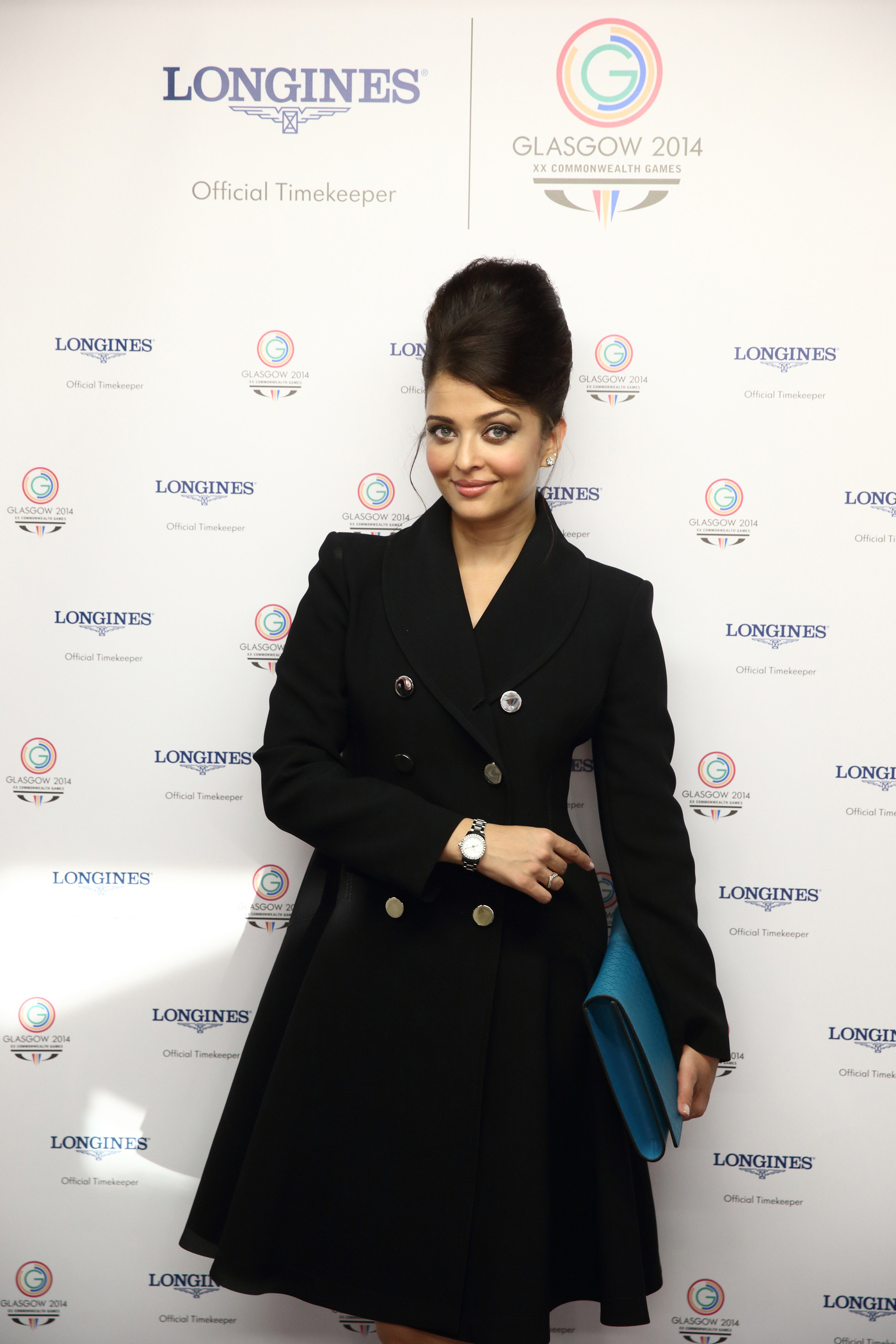 Longines Commonwealth Games Event: Longines Ambassador of Elegance Aishwarya Rai at the Opening Ceremony of Glasgow 2014, the XX Commonwealth Games 2