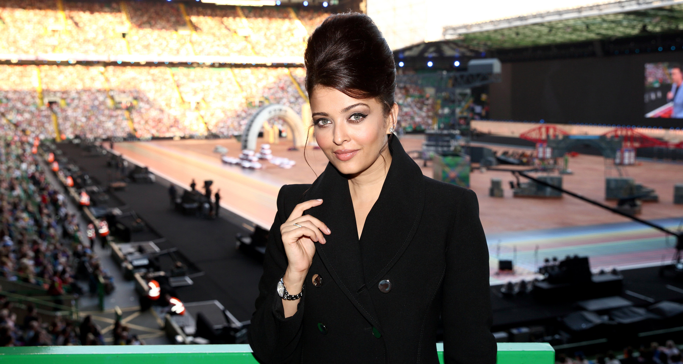 Longines Commonwealth Games Event: Longines Ambassador of Elegance Aishwarya Rai at the Opening Ceremony of Glasgow 2014, the XX Commonwealth Games 3