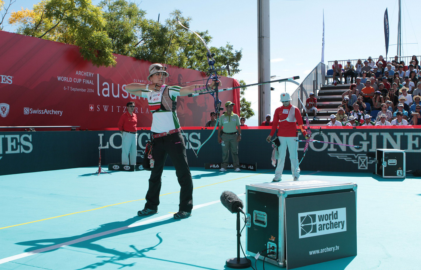 Longines Archery Event: Continuation of partnership between Longines and World Archery and presentation of the 2014 Longines Prize for Precision in Lausanne 4