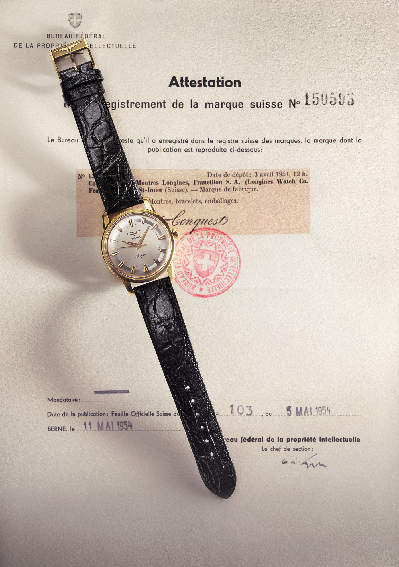 Longines Conquest Heritage 1954-2014 Watch 2