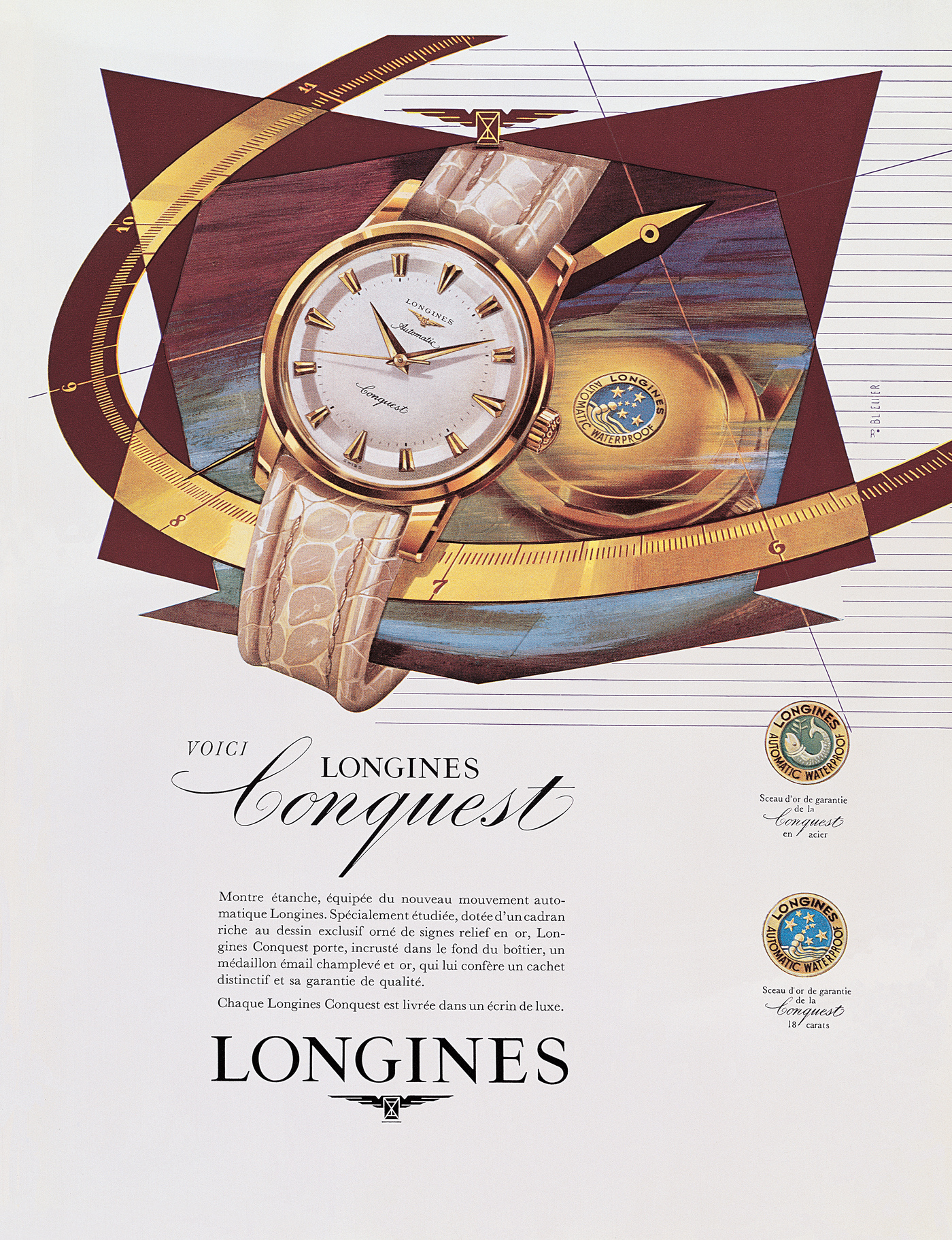Longines Conquest Heritage 1954-2014 Watch 3
