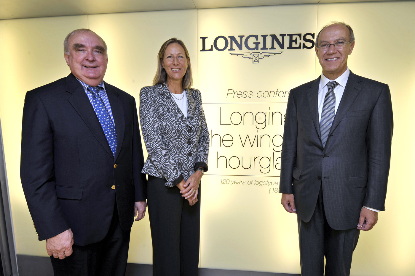 Longines Corporate Event: Longines has celebrated the 120th anniversary of the registration of a logo that is still in use today 14
