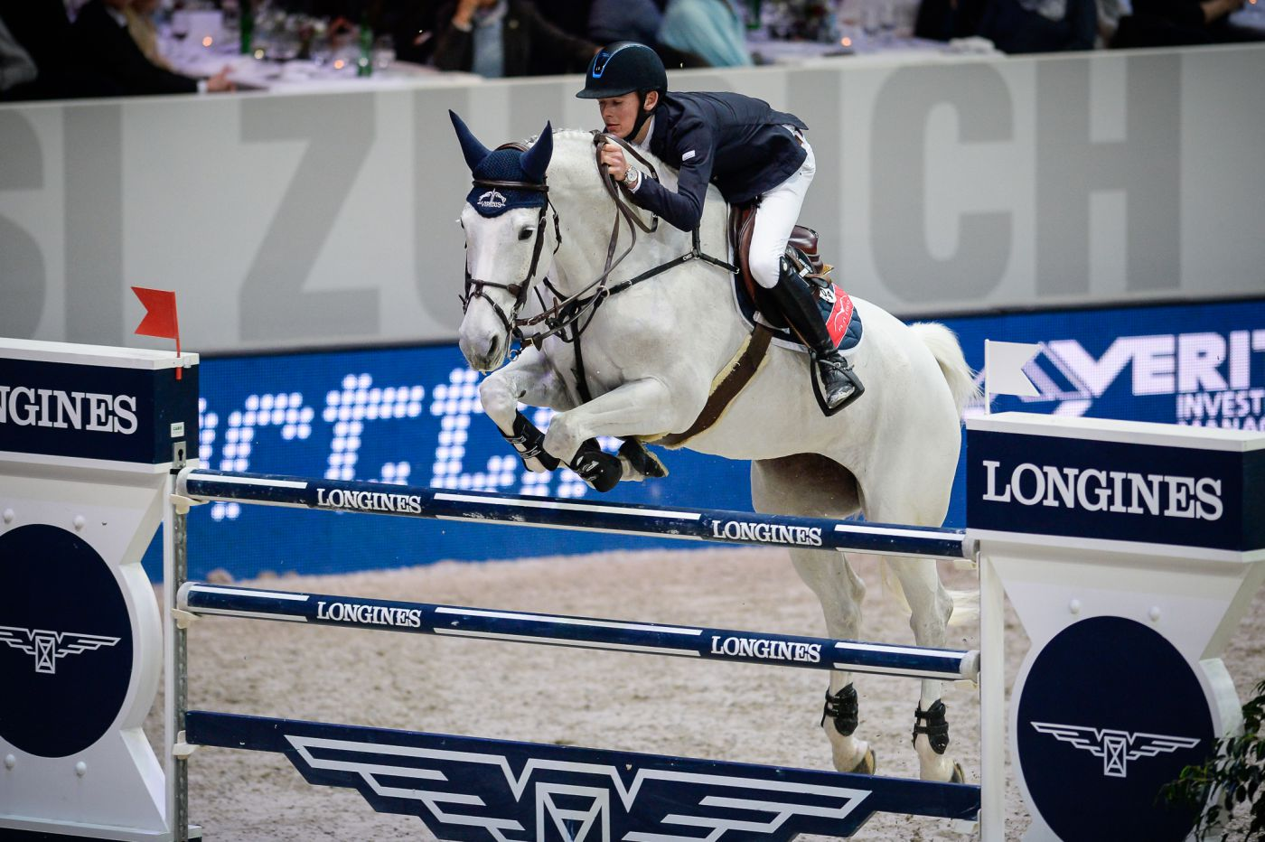 Longines Show Jumping Event: Sergio Alvarez Moya (ESP) wins the Swiss leg of the Longines FEI World Cup™ in Zurich 2