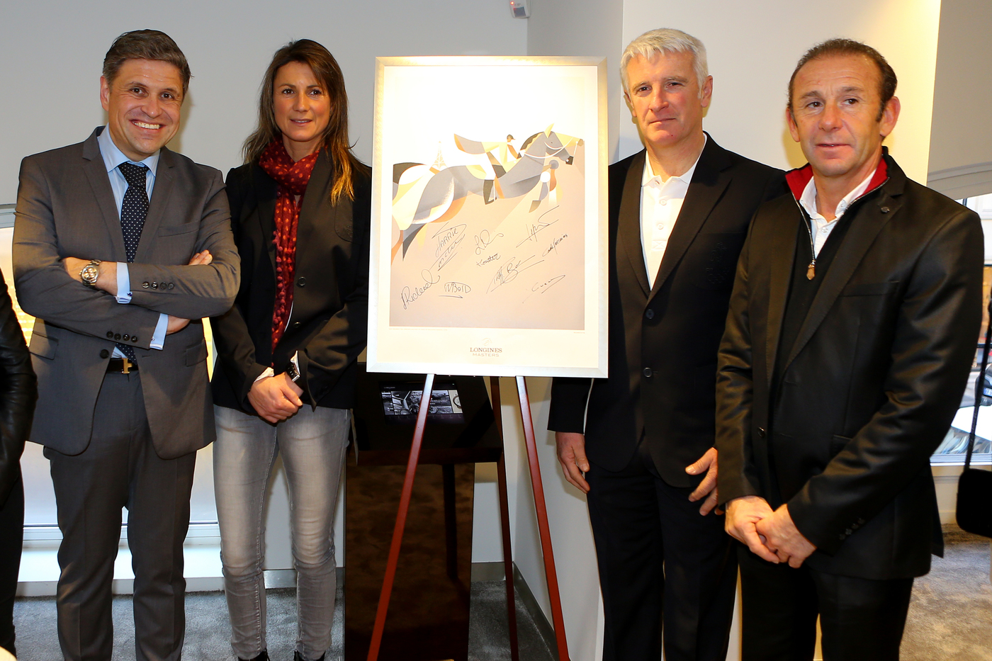 Longines Corporate Event: Longines presented its latest equestrian watch in its new Parisian boutique in the presence of show jumping champions 7