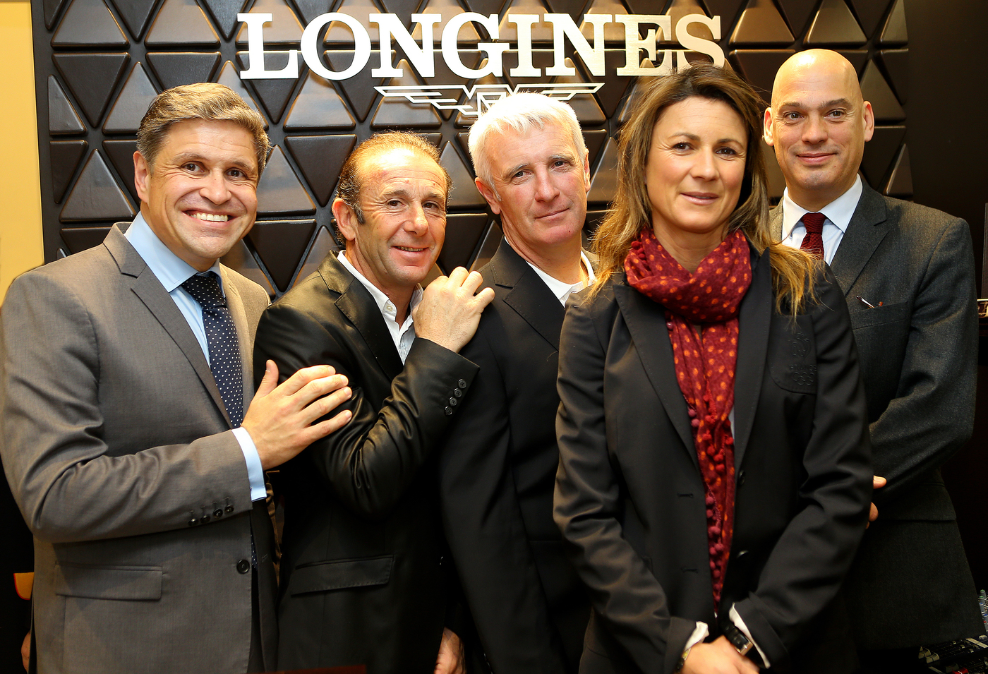 Longines Corporate Event: Longines presented its latest equestrian watch in its new Parisian boutique in the presence of show jumping champions 6