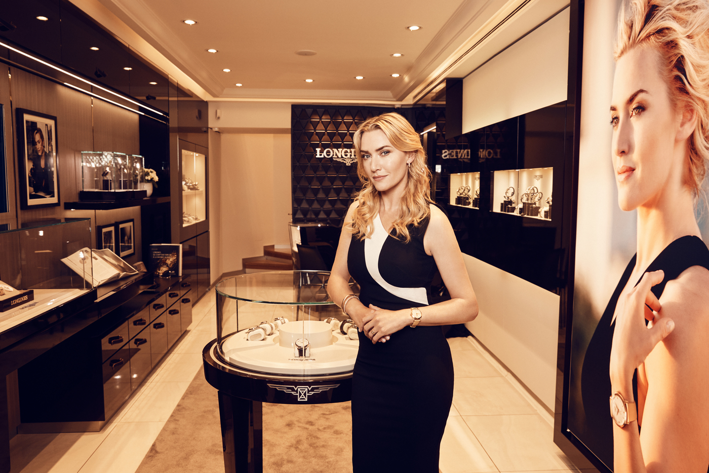Longines Corporate Event: Kate Winslet launches the exclusive Flagship Heritage by Kate Winslet timepiece to be auctioned online 8