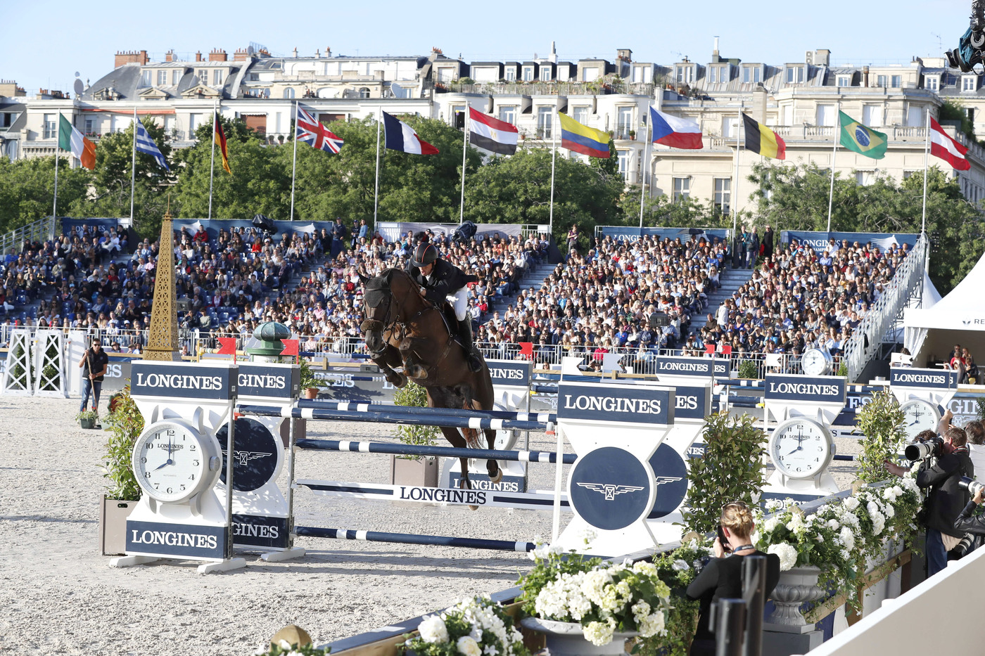 Longines Show Jumping Event: The Longines Paris Eiffel Jumping returned to its iconic location in the very heart of the French capital 1