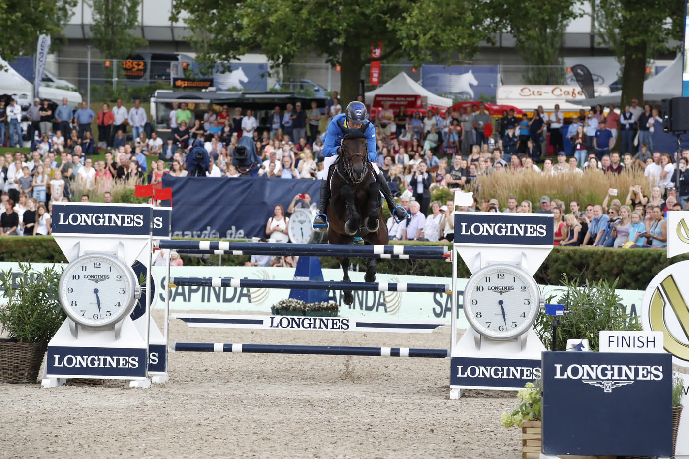 Longines Flat Racing Event: Berlin joined the Longines Global Champions Tour 5
