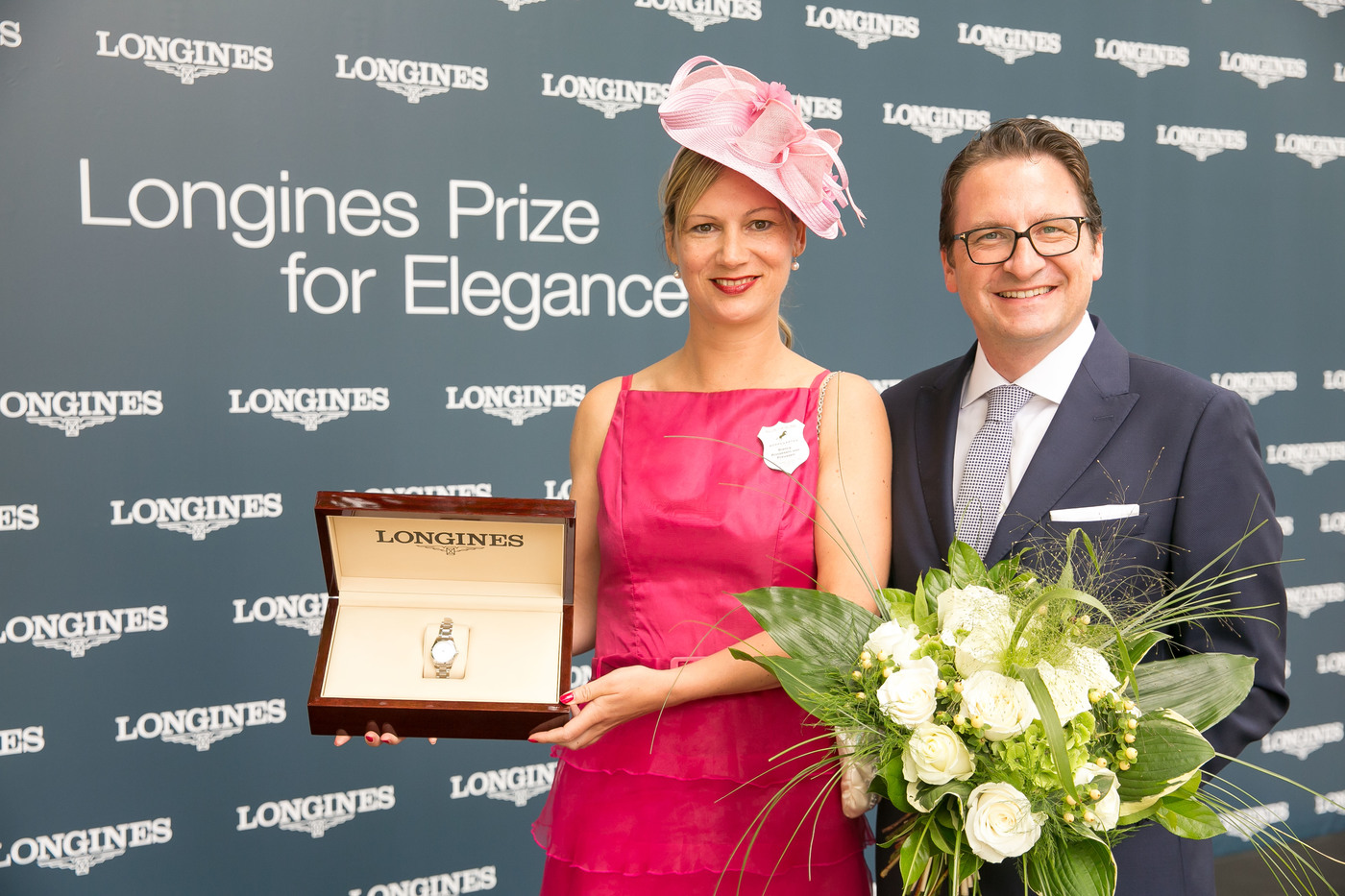 Longines Flat Racing Event: Longines launched its new second screen application during the Longines Grosser Preis von Berlin won by Adrie de Vries riding Dschingis Secret 5