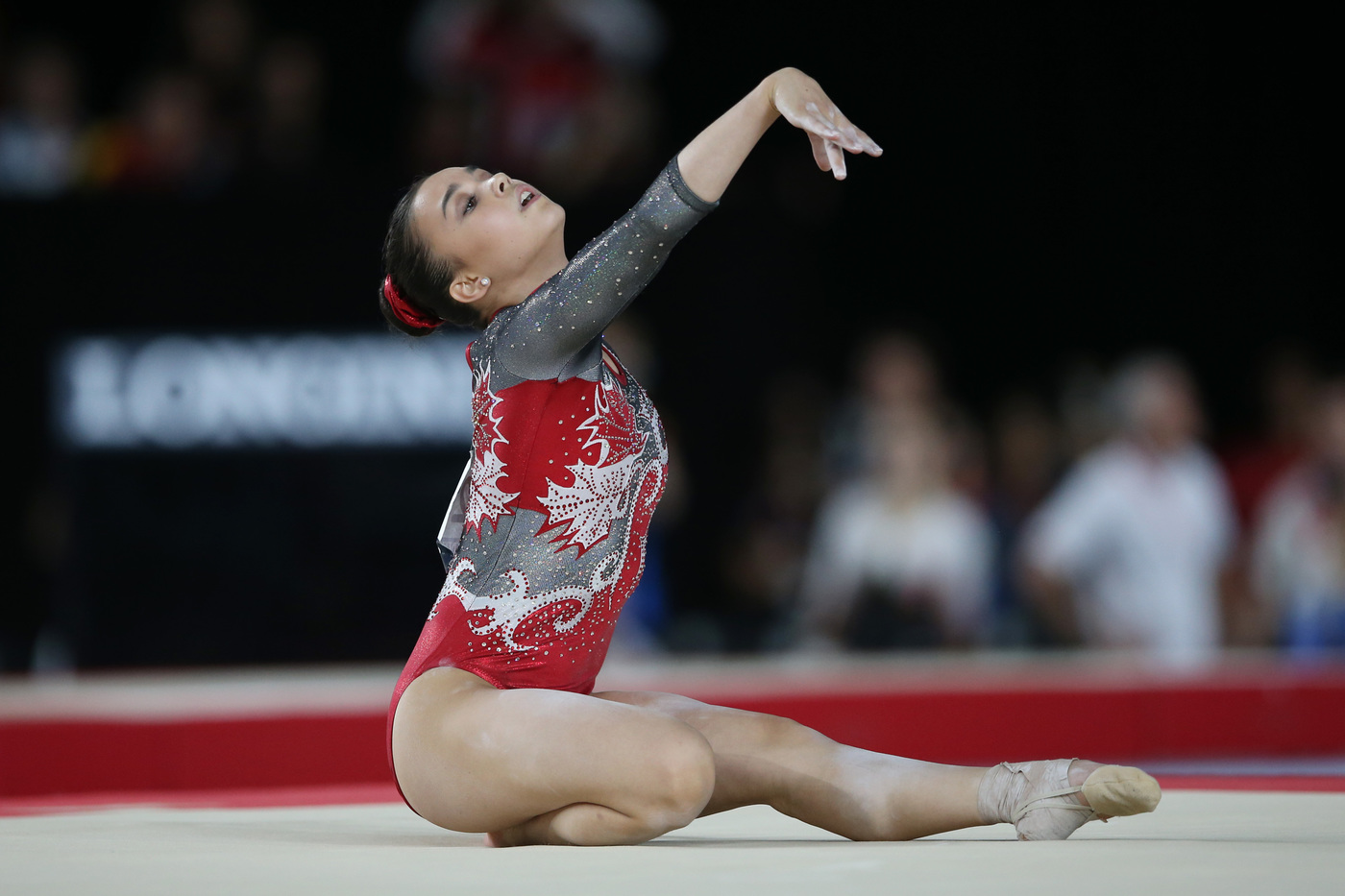 Longines Gymnastics Event: Canada's Brooklyn Moors and Japan's Kenzo Shirai presented with the Longines Prize for Elegance at the 47th Artistic Gymnastics World Championships in Montréal  4