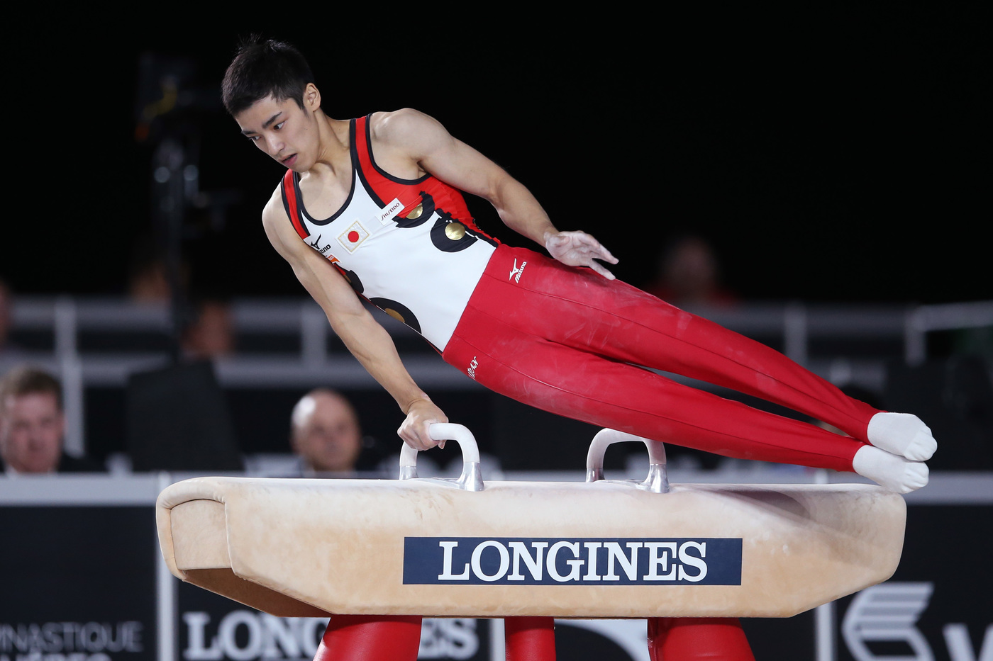 Longines Gymnastics Event: Canada's Brooklyn Moors and Japan's Kenzo Shirai presented with the Longines Prize for Elegance at the 47th Artistic Gymnastics World Championships in Montréal  5