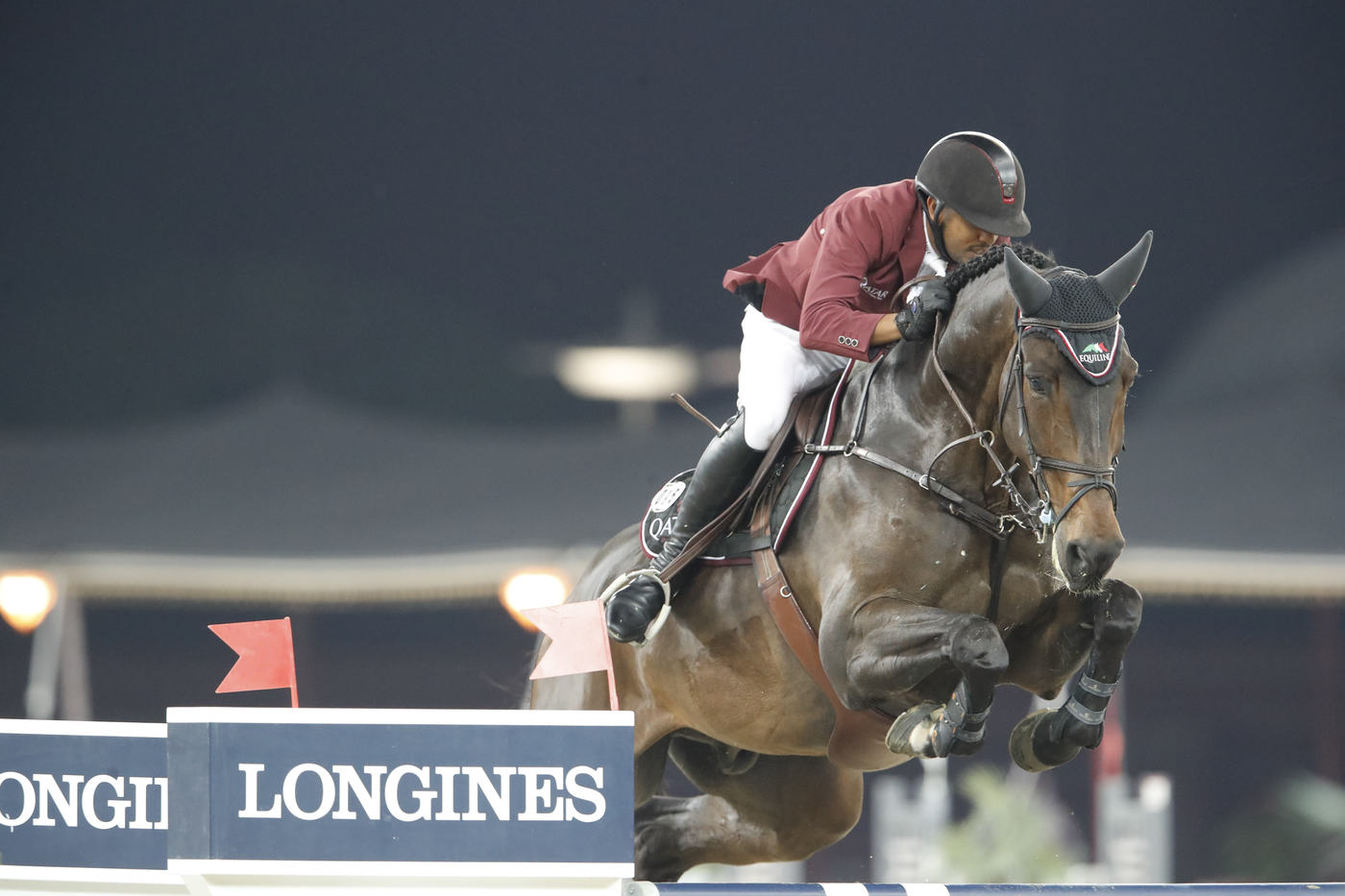 Longines Show Jumping Event: Qatari victory at the 2017 Longines Global Champions Tour in Doha 2