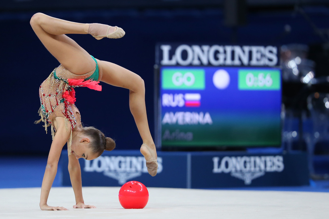Arina and Dina Averina Longines Ambassador of Elegance 1