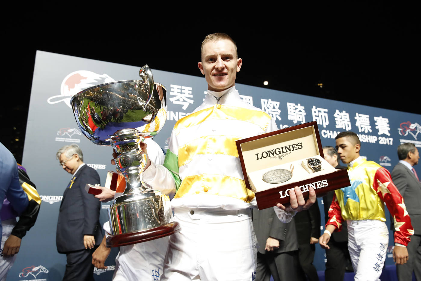 Longines Flat Racing Event:  The Longines International Jockeys' Championship: a celebration of the world's best jockeys  1