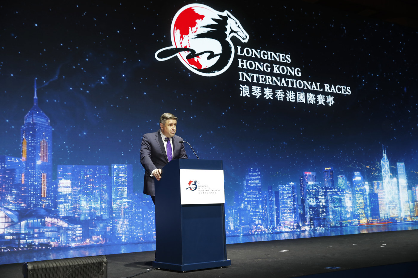 Longines Flat Racing Event: Australian Hugh Bowman receives the 2017 Longines World's Best Jockey Award in Hong Kong 1