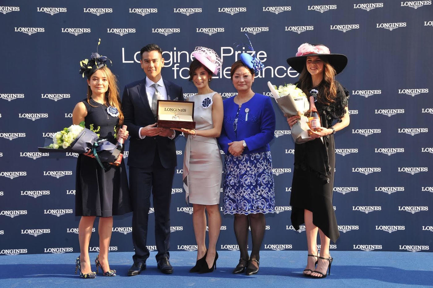 Longines Flat Racing Event: Longines welcomes its Ambassador of Elegance Eddie Peng at the 2017 Longines Hong Kong International Races 7