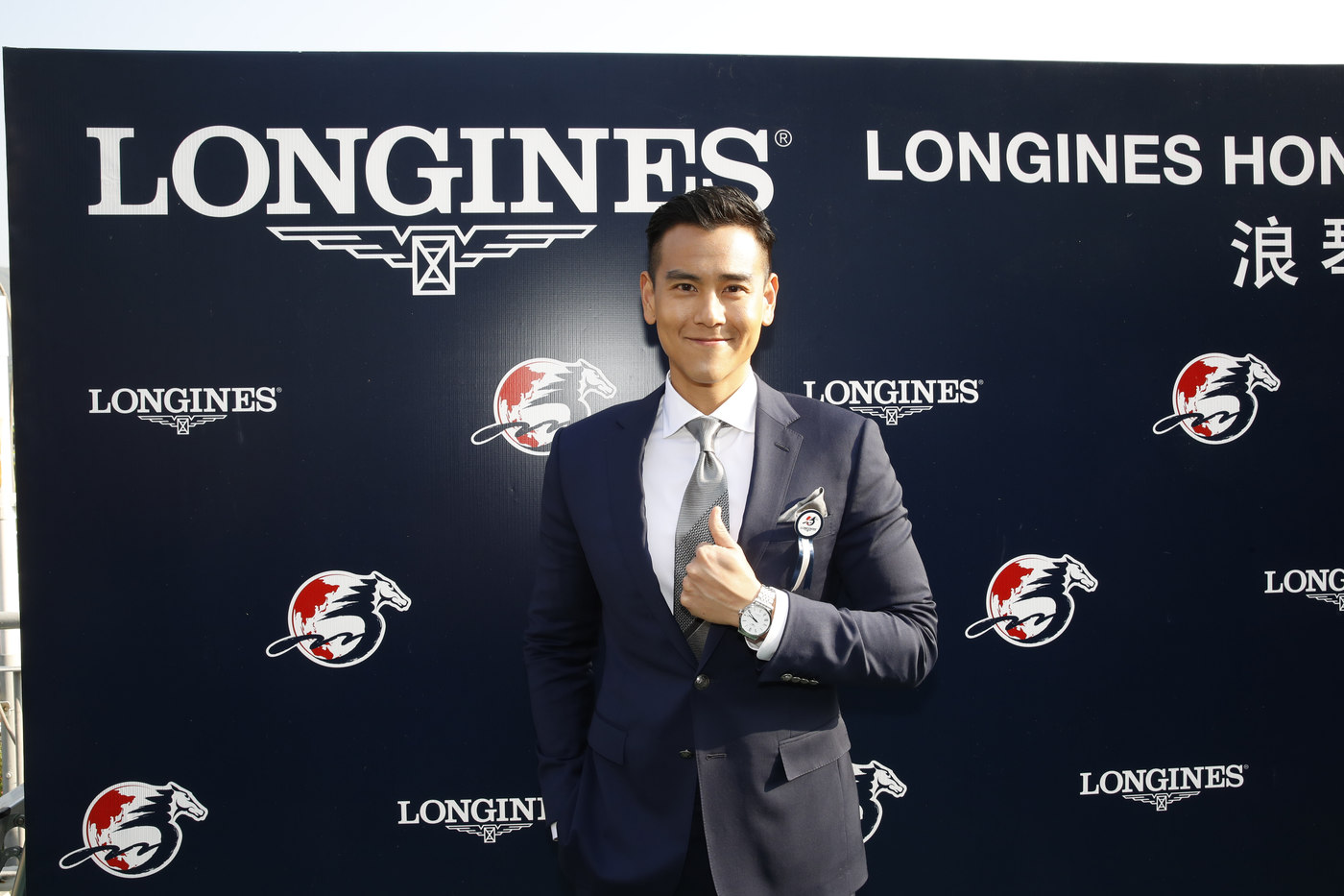 Longines Flat Racing Event: Longines welcomes its Ambassador of Elegance Eddie Peng at the 2017 Longines Hong Kong International Races 15