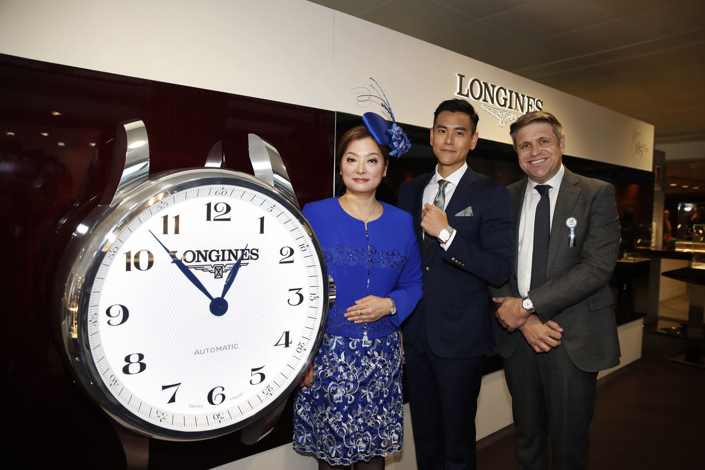 Longines Flat Racing Event: Longines welcomes its Ambassador of Elegance Eddie Peng at the 2017 Longines Hong Kong International Races 12
