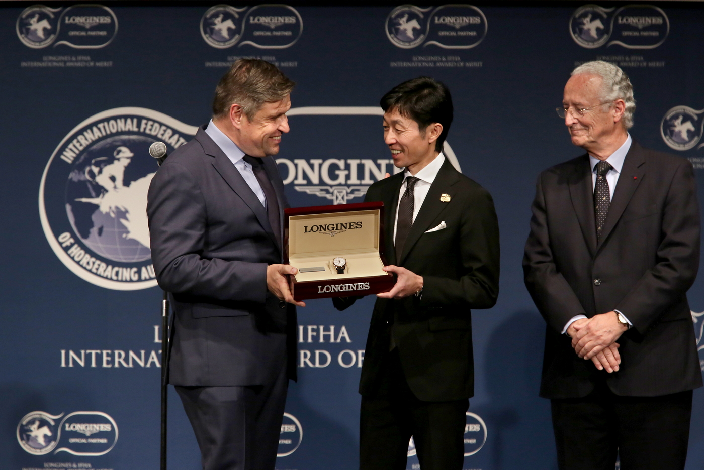 Longines Flat Racing Event: Yutaka Take Receives the 2017 Longines and IFHA International Award of Merit 6