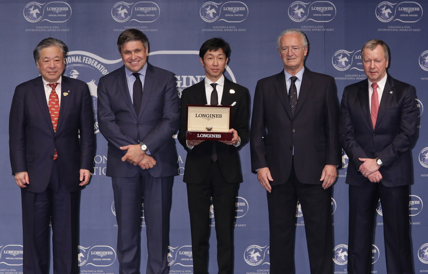Longines Flat Racing Event: Yutaka Take Receives the 2017 Longines and IFHA International Award of Merit 4