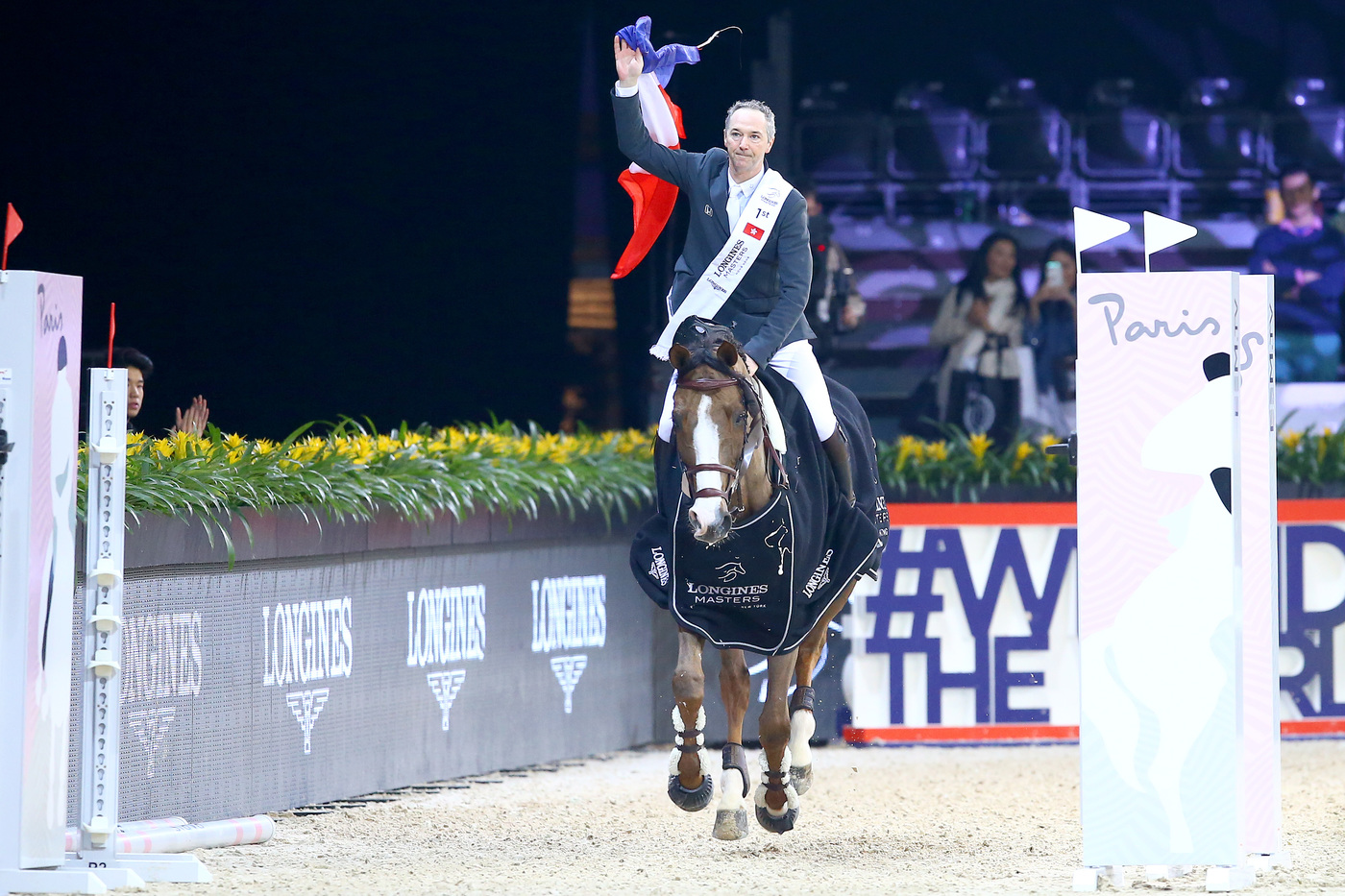 Longines Show Jumping Event: The Longines Masters of Hong Kong: Patrice Delaveau on Aquila HDC takes top class Longines Grand Prix win 1