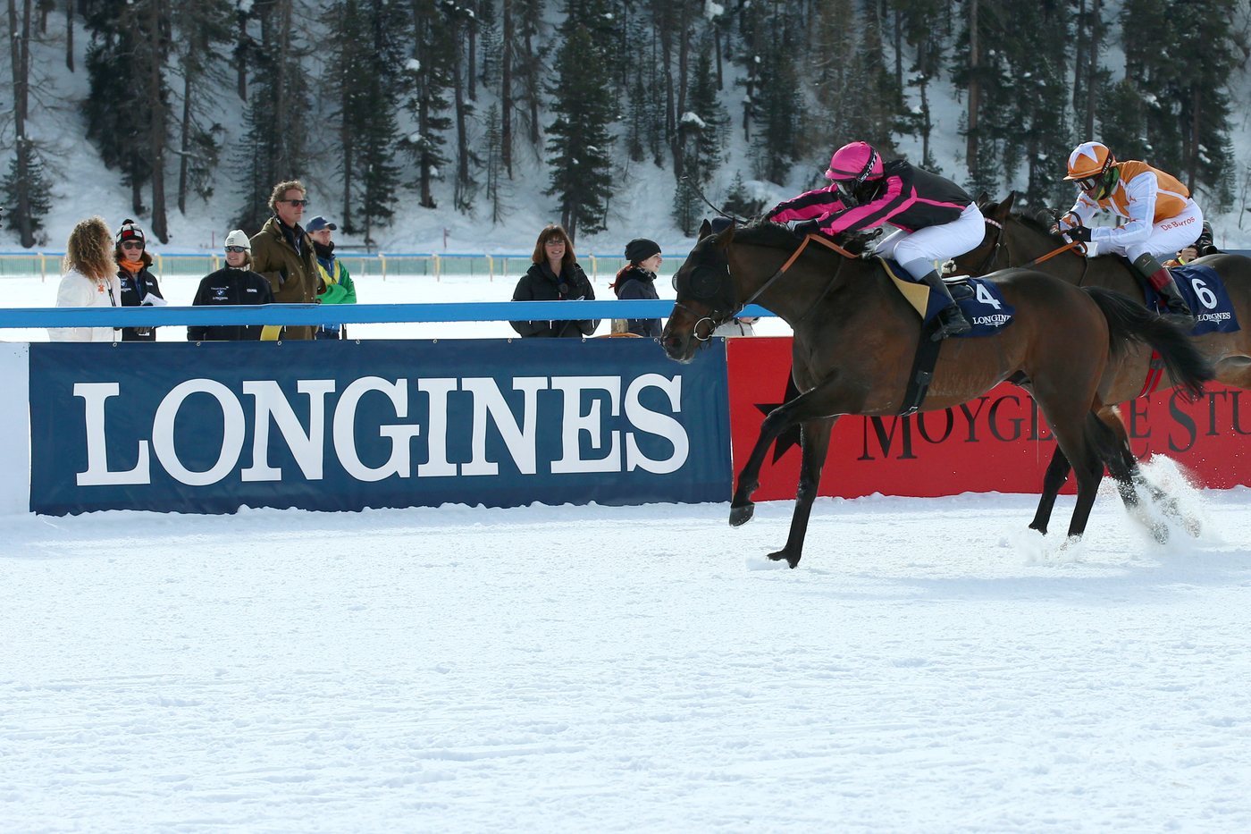 Longines Flat Racing Event: Maxim Pecheur and Nimrod won the Longines 79. Grosser Preis von St. Moritz 2